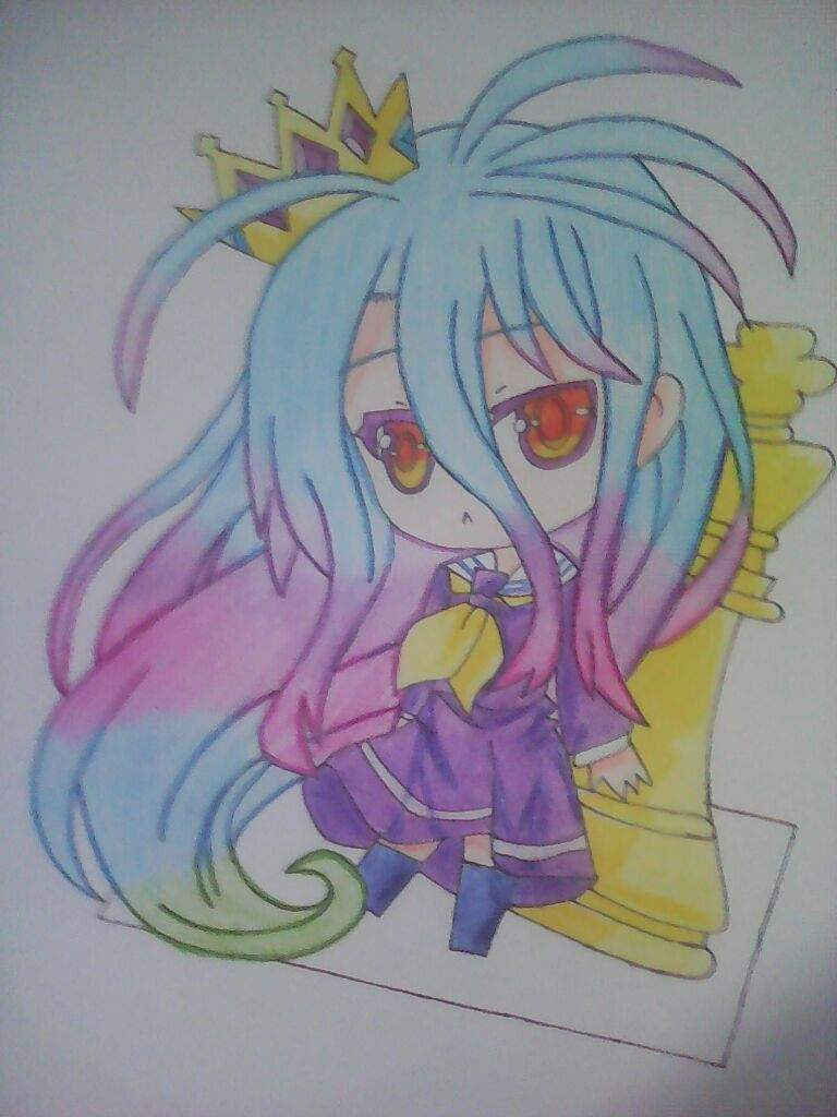Dibujando A Shiro No Game No Life Anime Amino