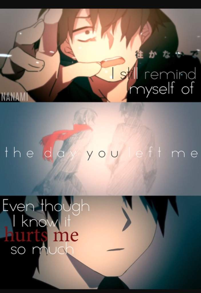 sad anime quotes anime amino