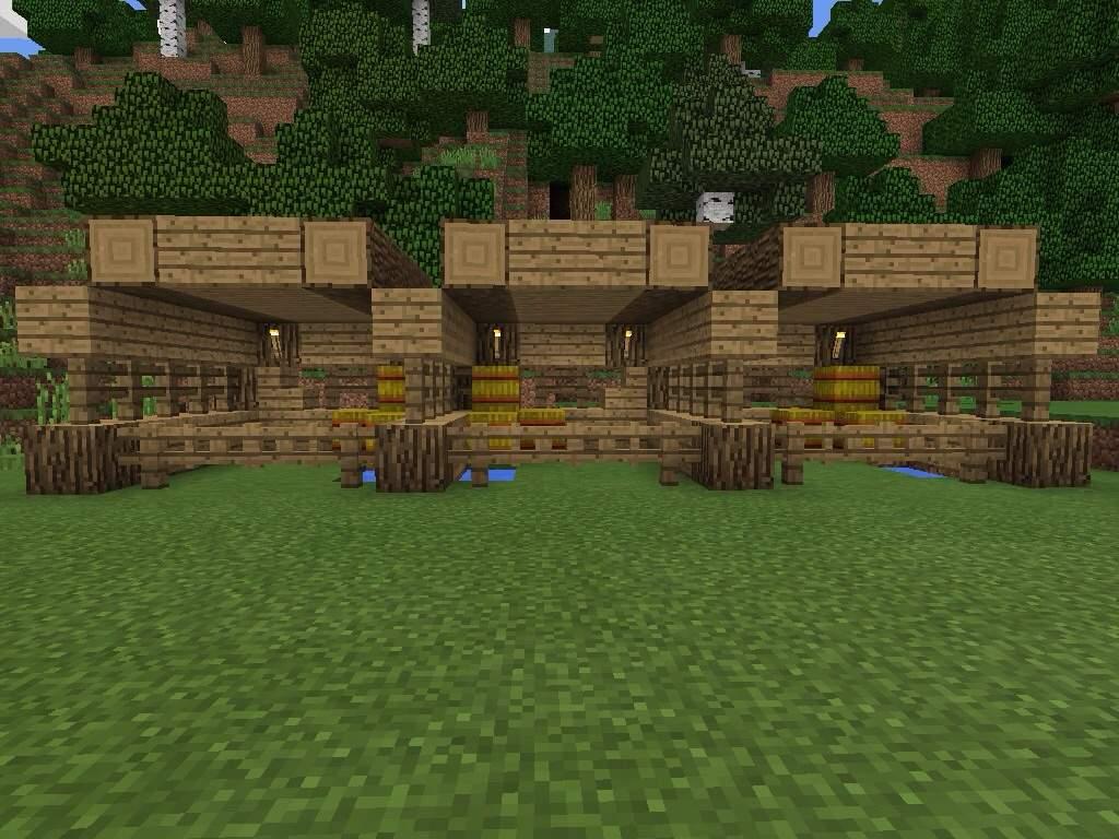 Minecraft Horse Barn Design