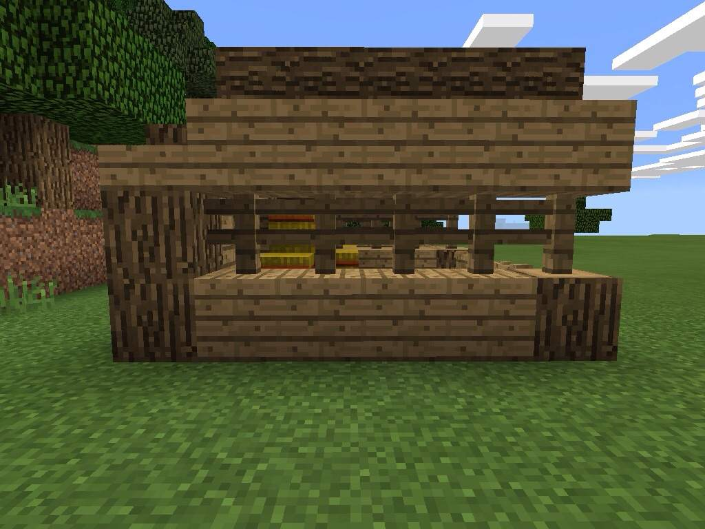 My Horse Stable Build Mcpe Minecraft Amino