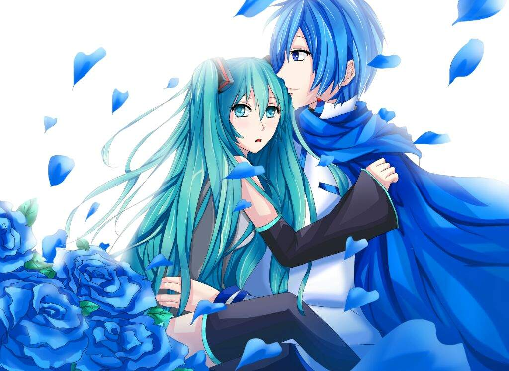 Vocaloid Ships: Day 1-- Kaito x Miku | Vocaloid Amino Vocaloid Kaito Songs