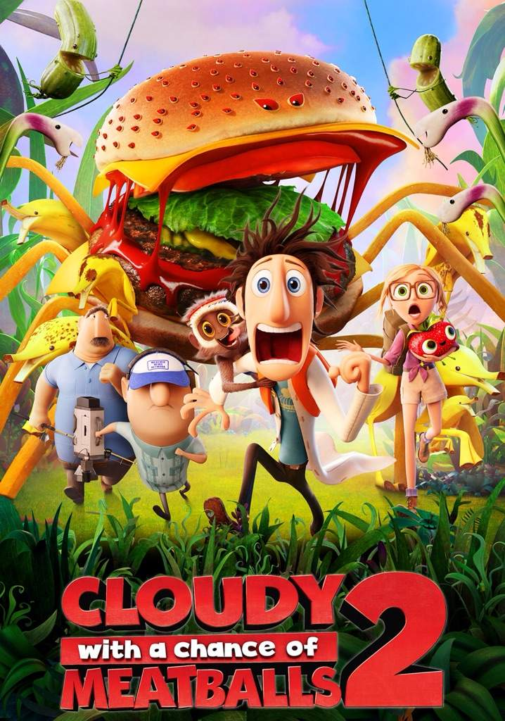 Review 11 Cloudy With A Chance Of Meatballs 2 Cartoon Amino