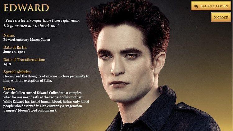 Edward Cullen | Wiki | The Twilight Saga Amino