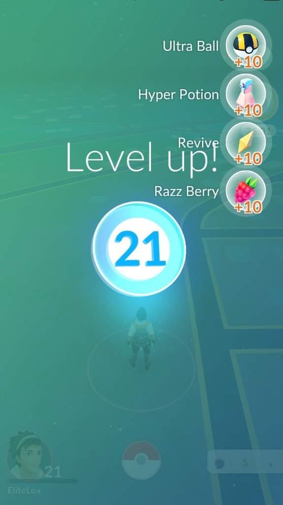 level 21 rewards | pokemon go amino