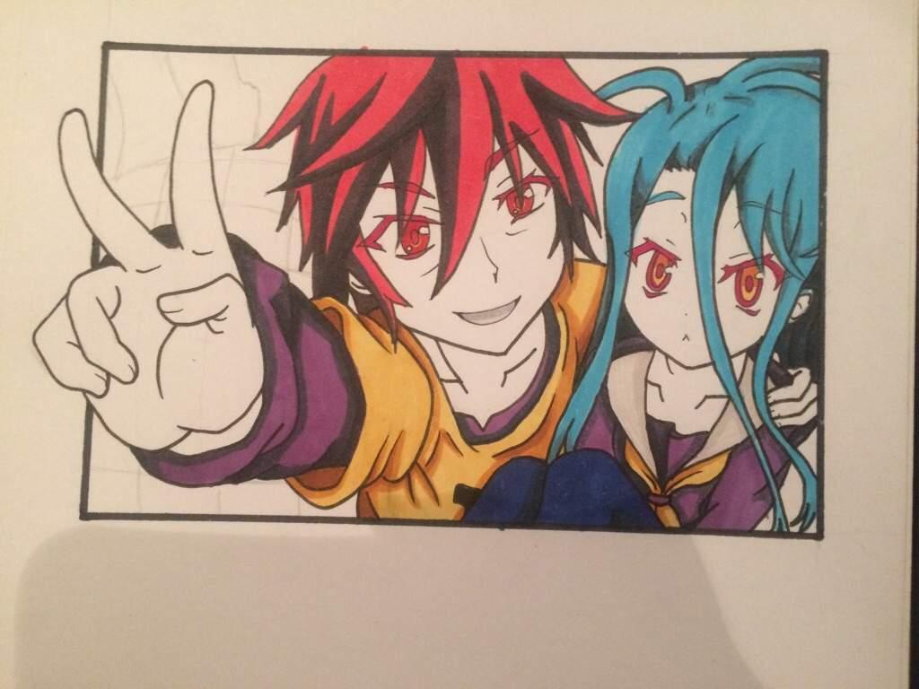Como Dibujar A Sora Y Shiro 3dpaso A Paso Anime Amino