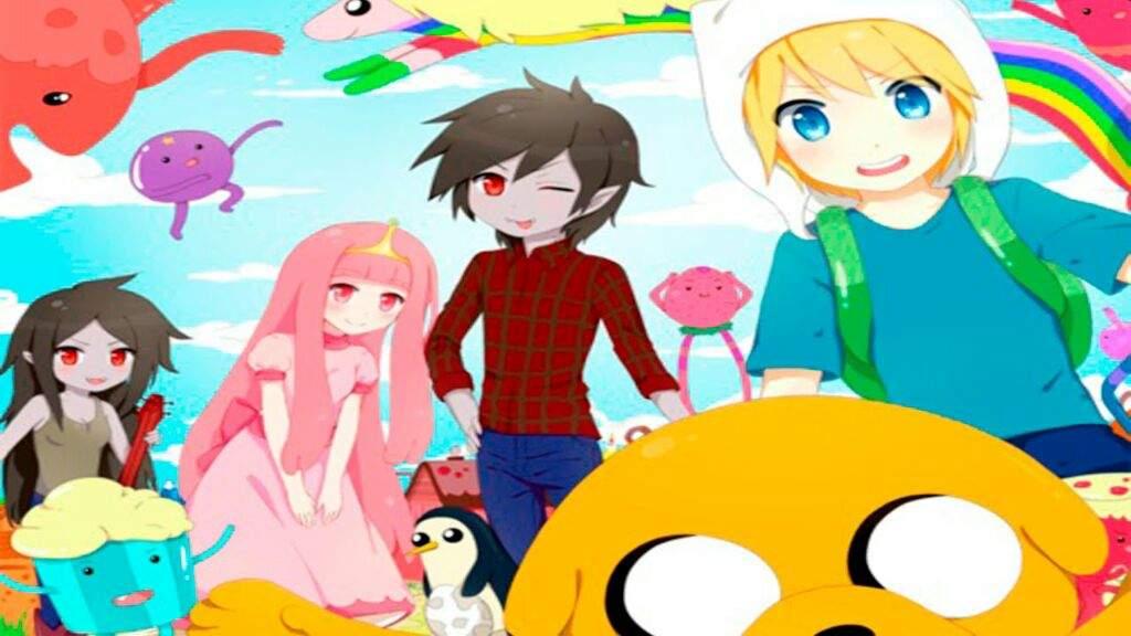 Hora de aventura en anime hora de aventura amino amino thecheapjerseys Images