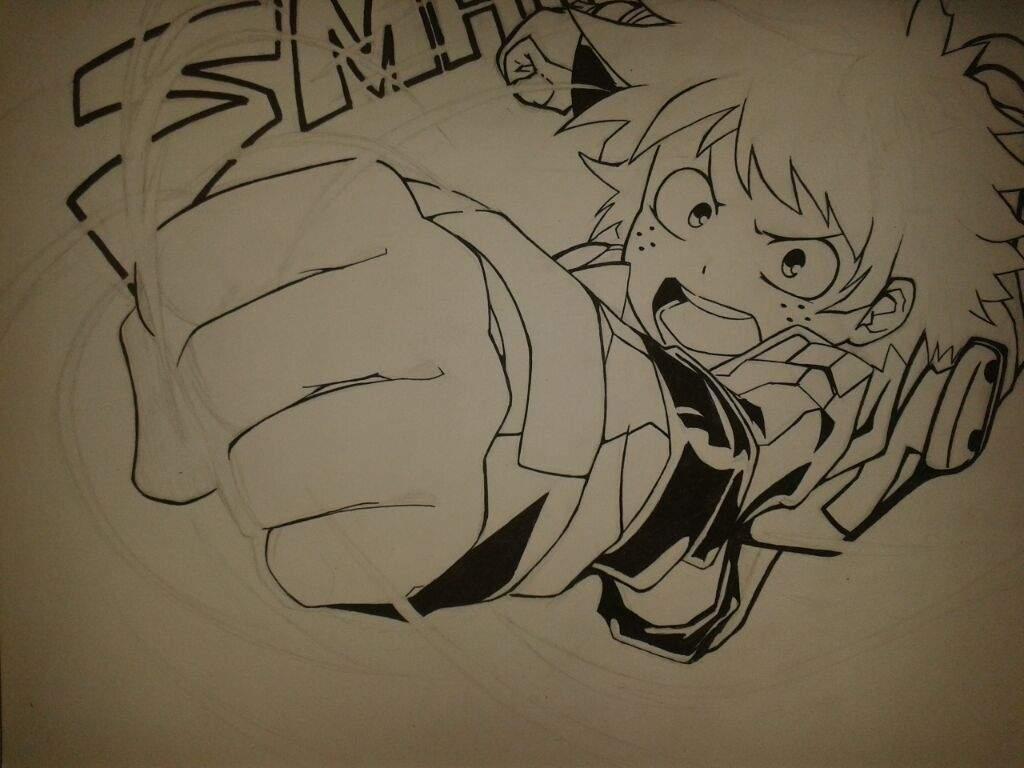 Dibujo:Deku!, boku no hero academia | •Anime• Amino