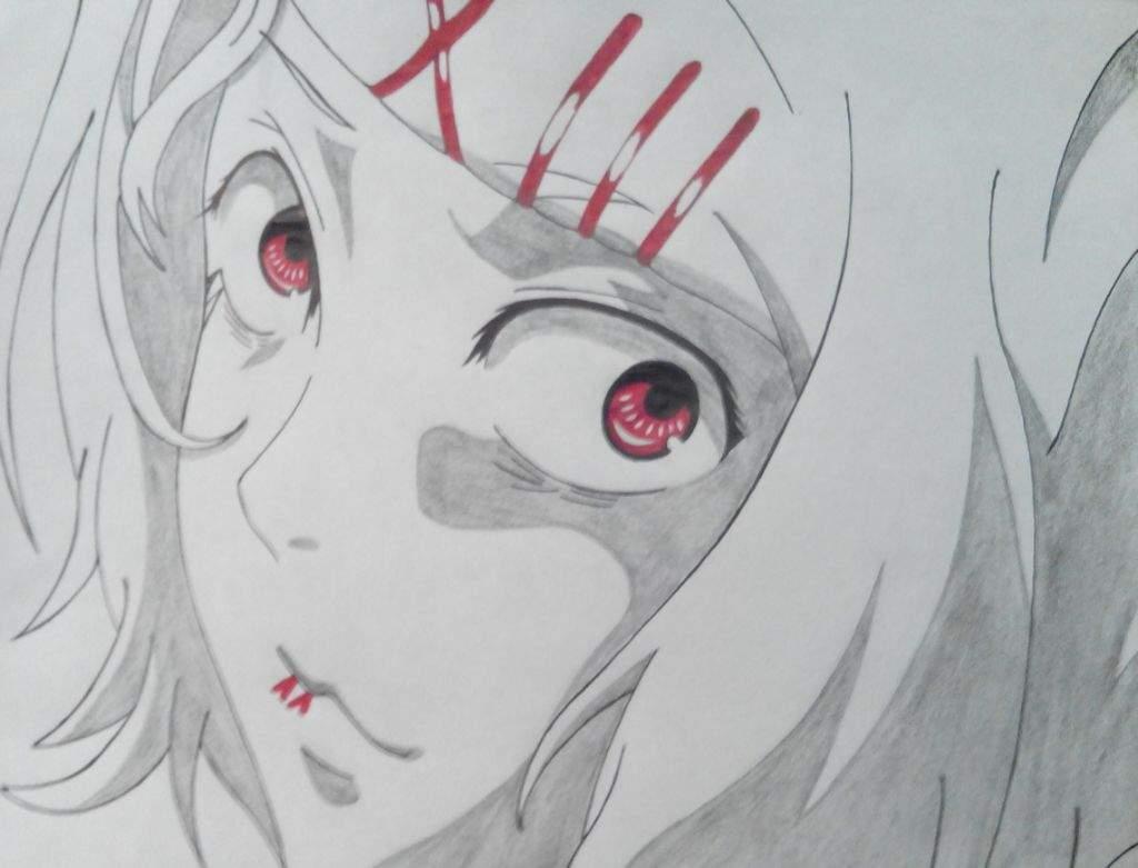 Tokyo Ghoul Dibujos Para Colorear: Tokyo Ghoul Dibujo De Juuzou Suzuya