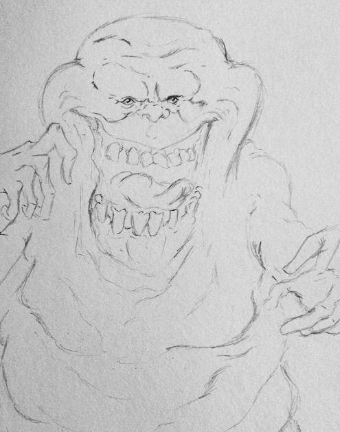 Slimer drawing | Cartoon Amino