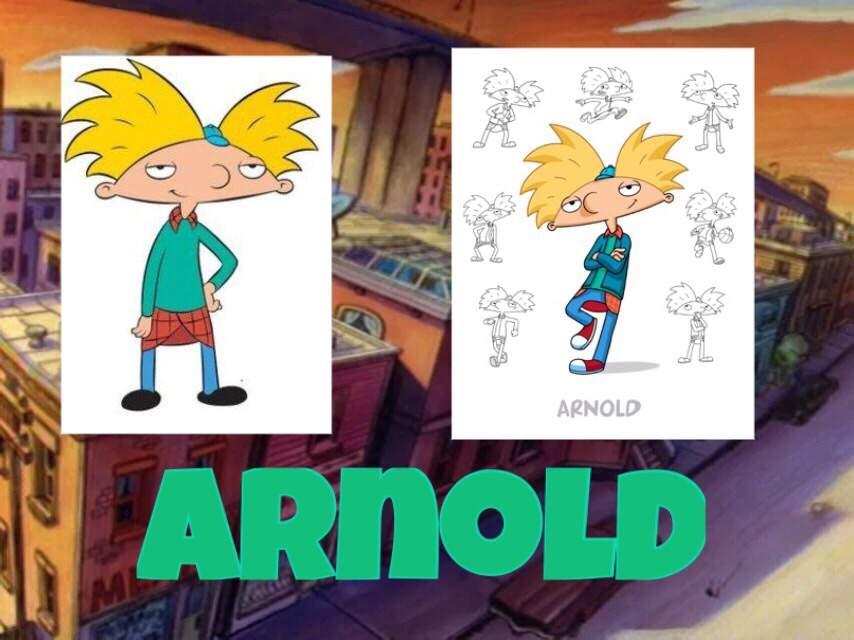 Hey Arnold Older