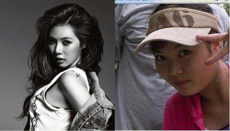 Han sun hwa antes y despues de adelgazar
