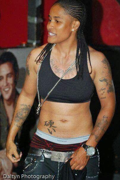 Lesbian rapper