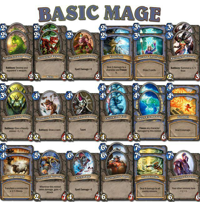 how to play echo mage hearthstone
