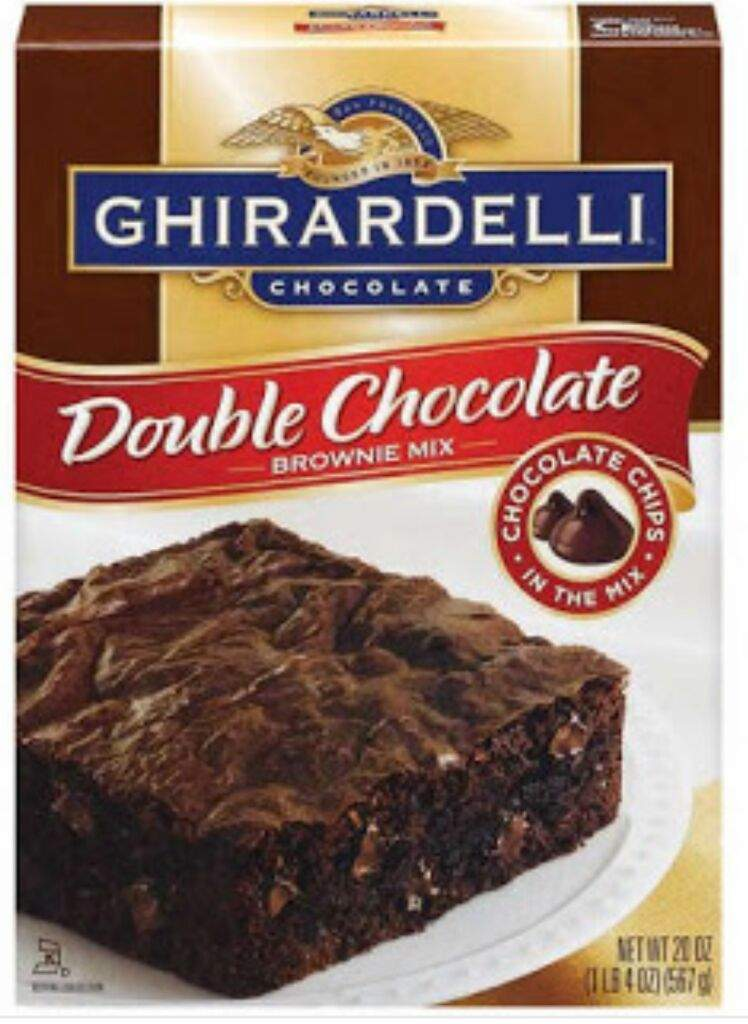 Ghirardelli Double Chocolate Brownie Mix Nutrition