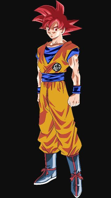 Super saiyan god goku v s super saiyan 4 goku - Sangoku super saiyan god ...
