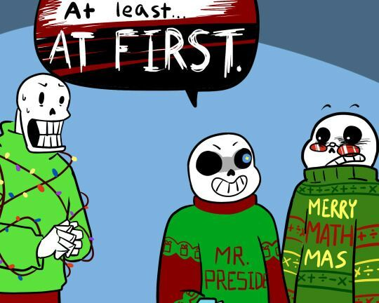 Christmas Party Au Comic.Best Of The Cpau Comic Undertale Amino