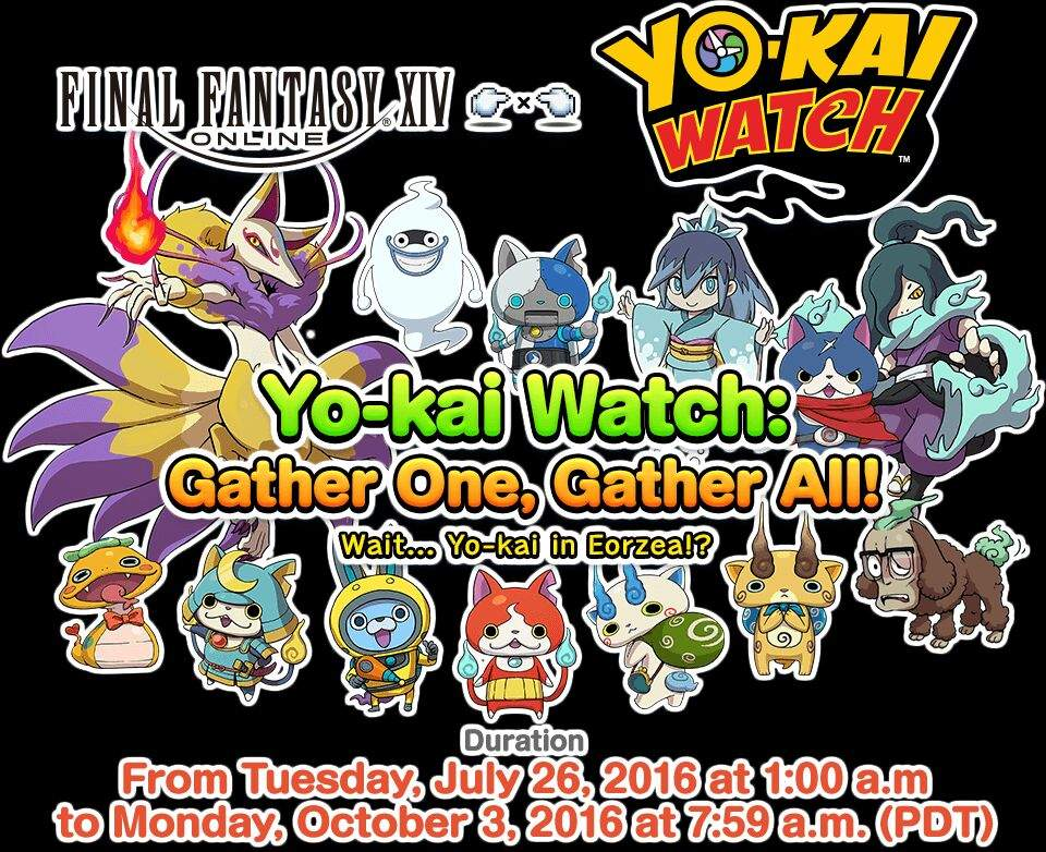 Yo-kai Watch x Final Fantasy XIV Online Event | Yo-Kai Watch