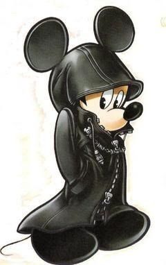 Black coat kh