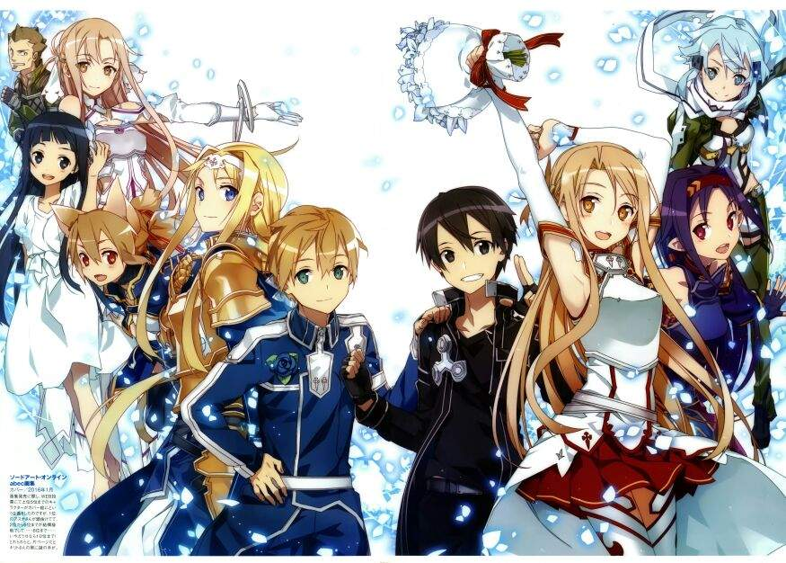 For Fans Wanting Sword Art Online Season 3 Spoilersmany Are Focused On Kirito And Asuna After All Spent Much Of SAO 2 Adding His Waifu