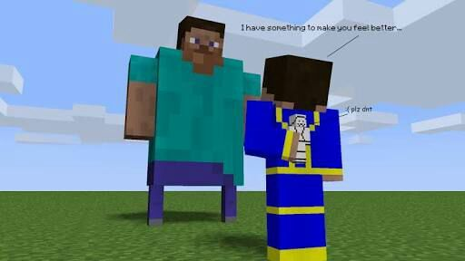 fat steve in minecraft pe  Minecraft Amino