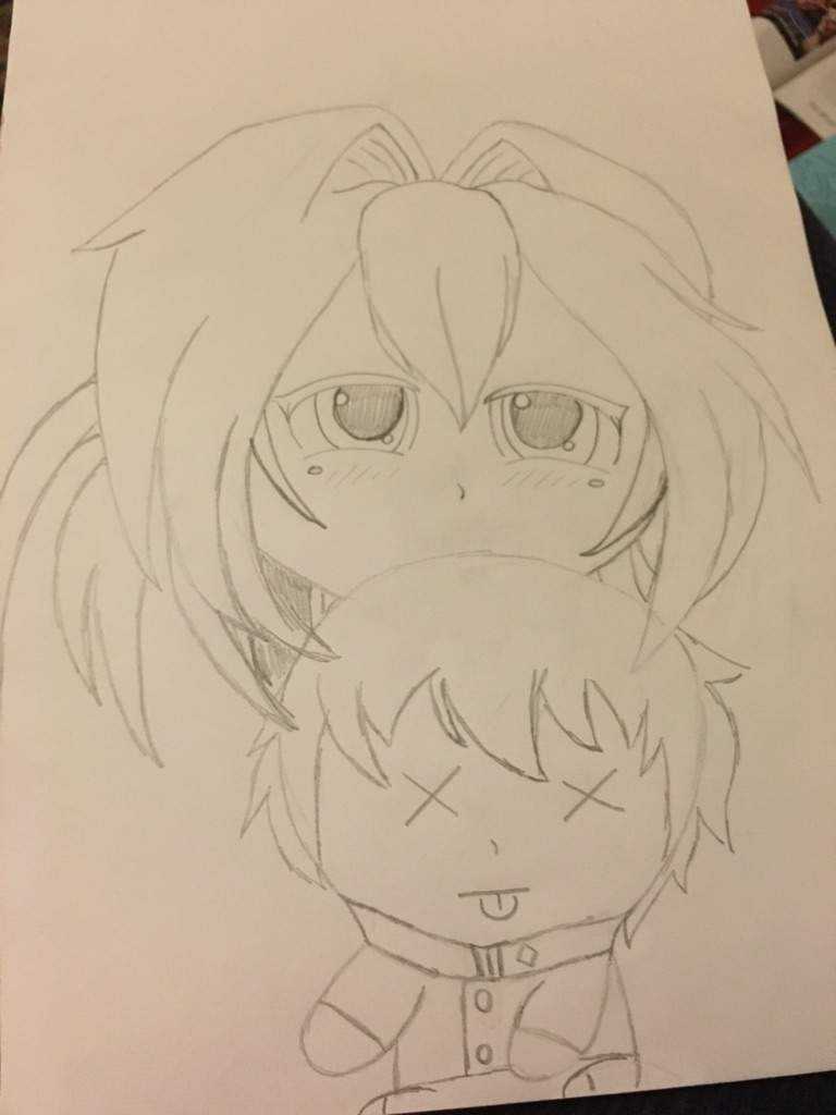 What do you guys think? (Yandere~chan with Senpai doll