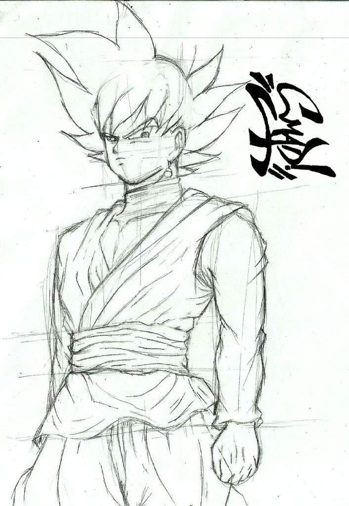 Dibujando A Goku Black Anime Amino
