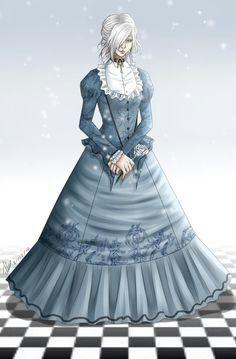 Anime Victorian Dress