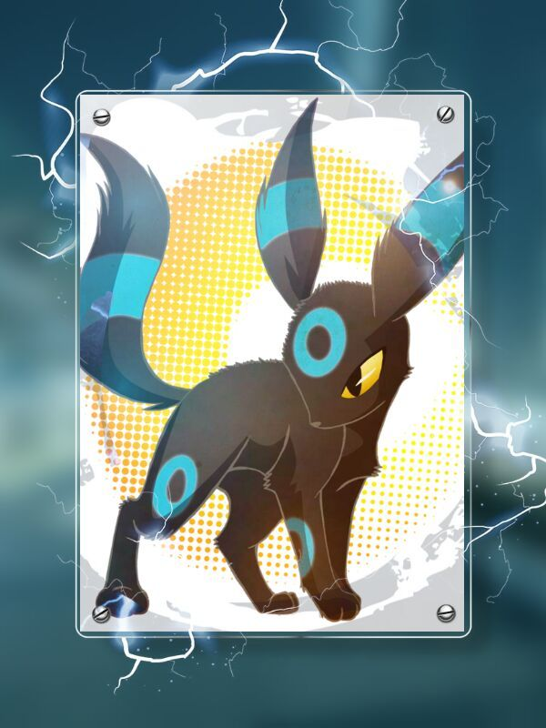 Original Shiny Umbreon Draw Was Made By SoftMonKeychains