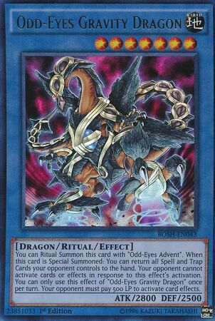 Number 7 Odd Eyes Gravity Dragon