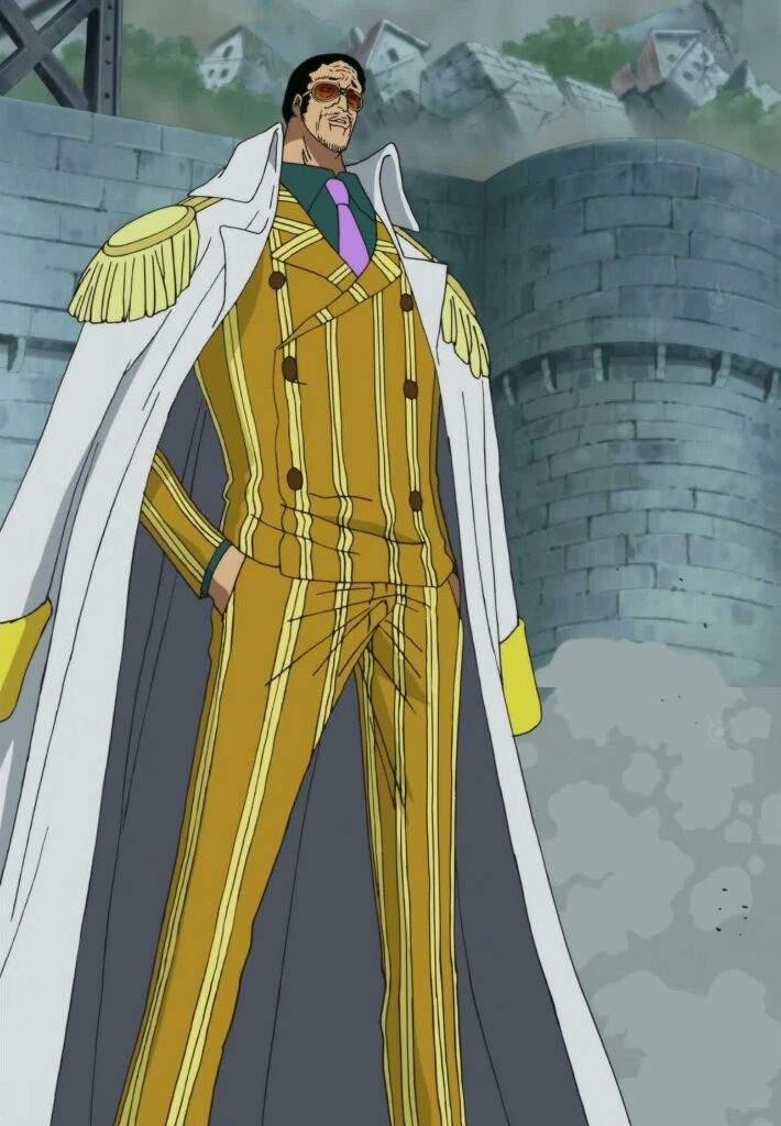 character analysis admiral kizaru borsalino one piece amino