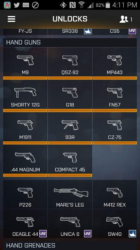 The Complete Guide To Sidearms In Bf4 Battlefield Amino Amino