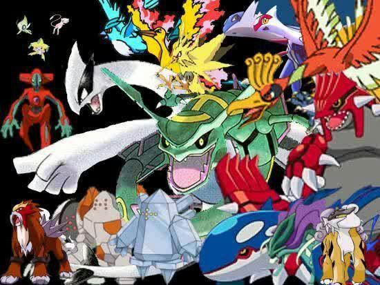 Legendary pokemon wallpaper | Pokémon Amino