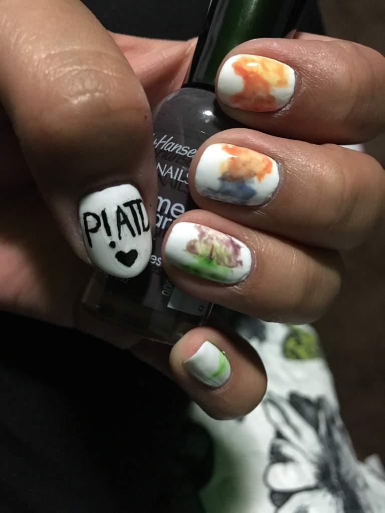 P atd nail art