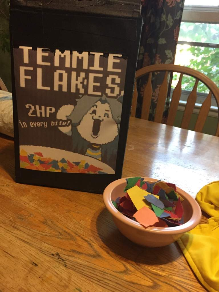 how to make temmie flakes