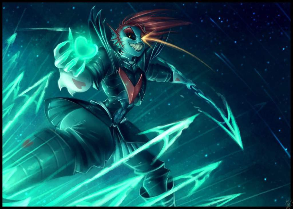 undertale undyne the undying fight