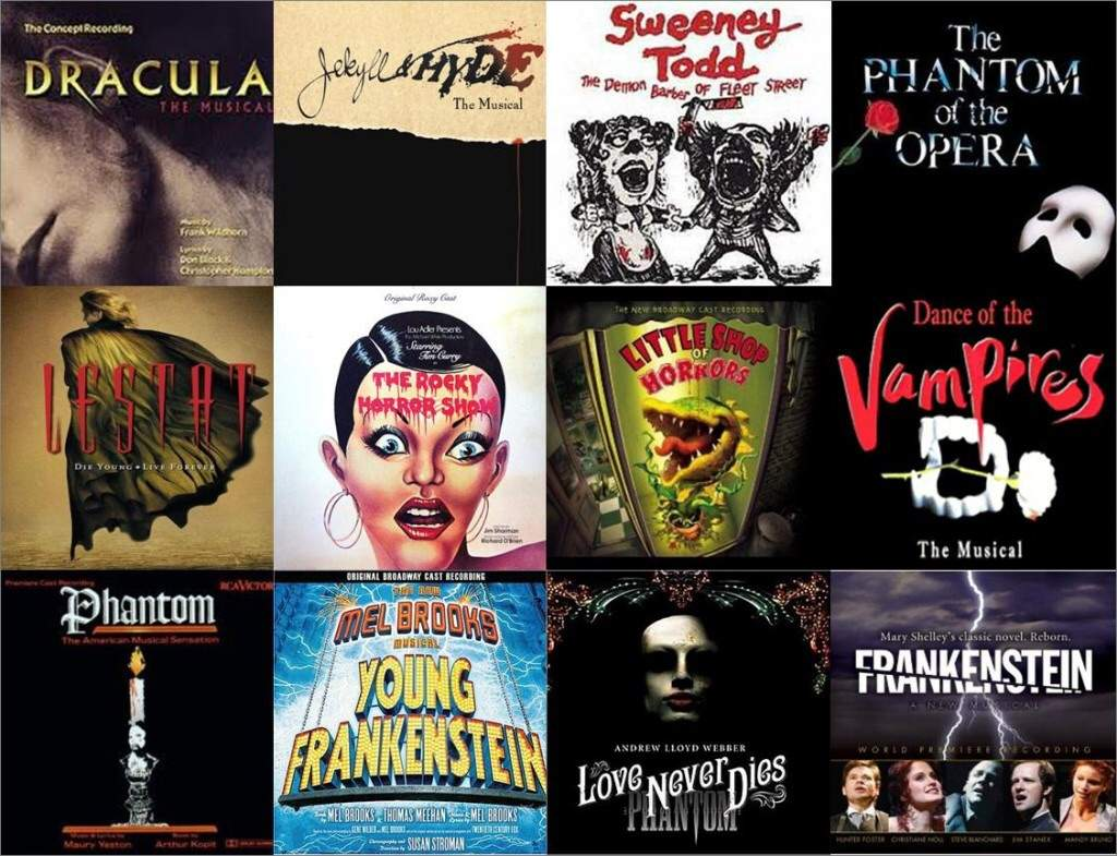 Bloodstains on Broadway: Horror Musicals | Horror Amino