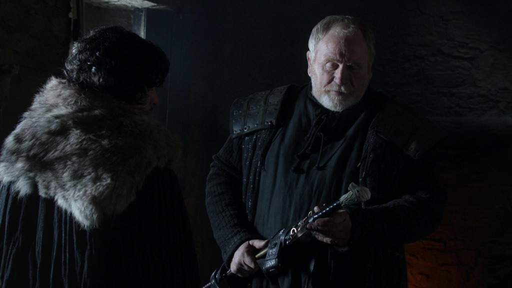 Image result for jon and mormont
