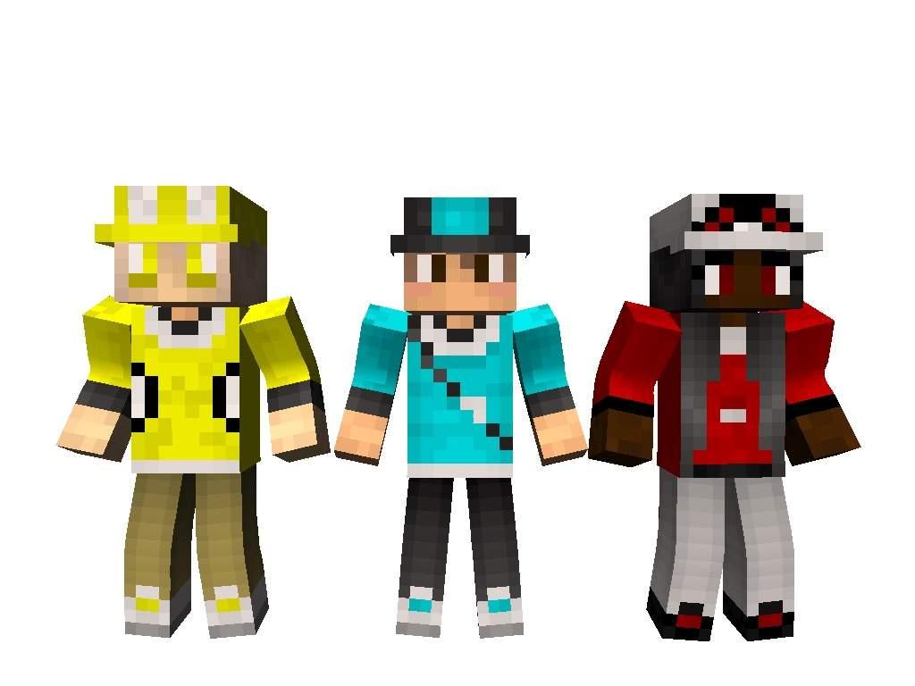 POKEMON GO SKINSET Minecraft Amino - Skin para minecraft pe de pokemon