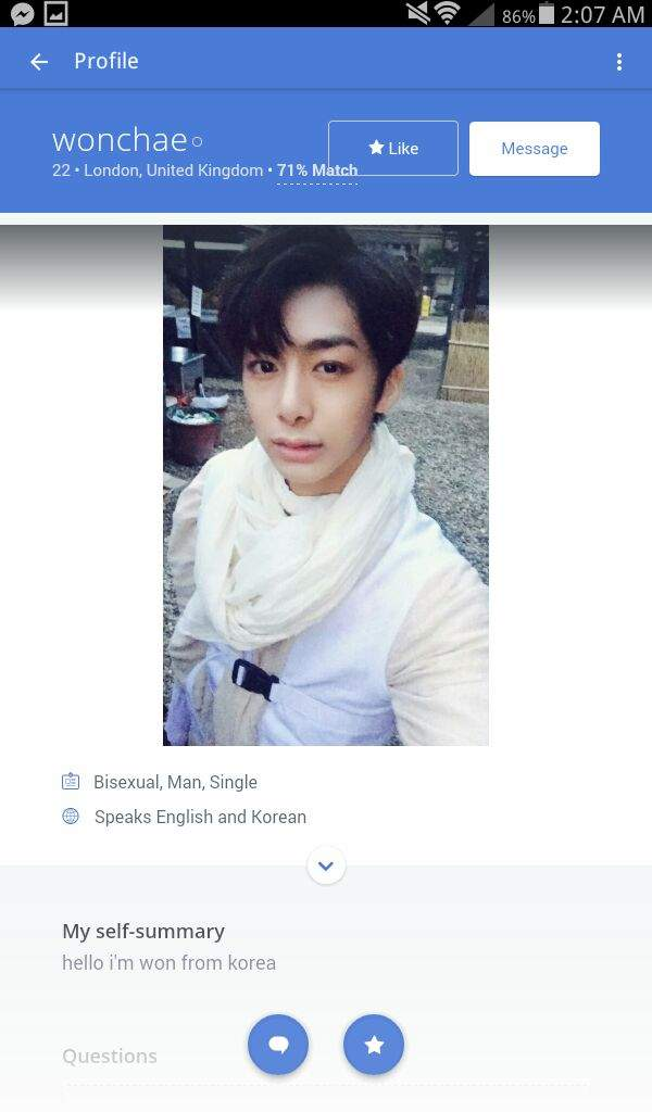 Okcupid korea