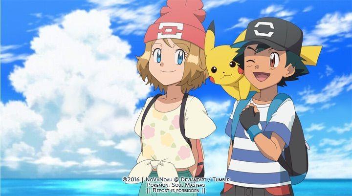 Ash And Serena Should Go To Alola Pokémon Amino