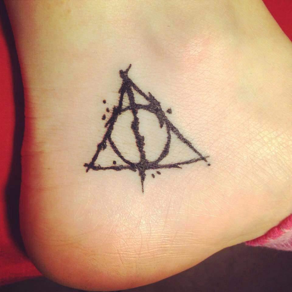 Deathly Hallows Tattoo Harry Potter Amino