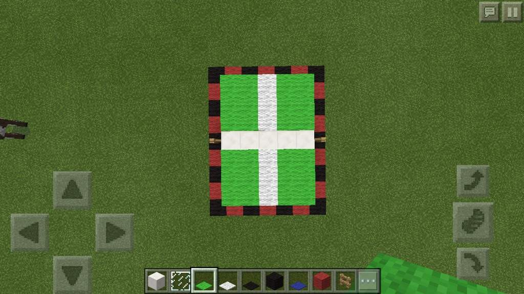 minecraft fence post. Now Place Lime Green Carpet As Shown Above. Each Outer Corner Should Be Placed On Top Of The Fence Post! Minecraft Post