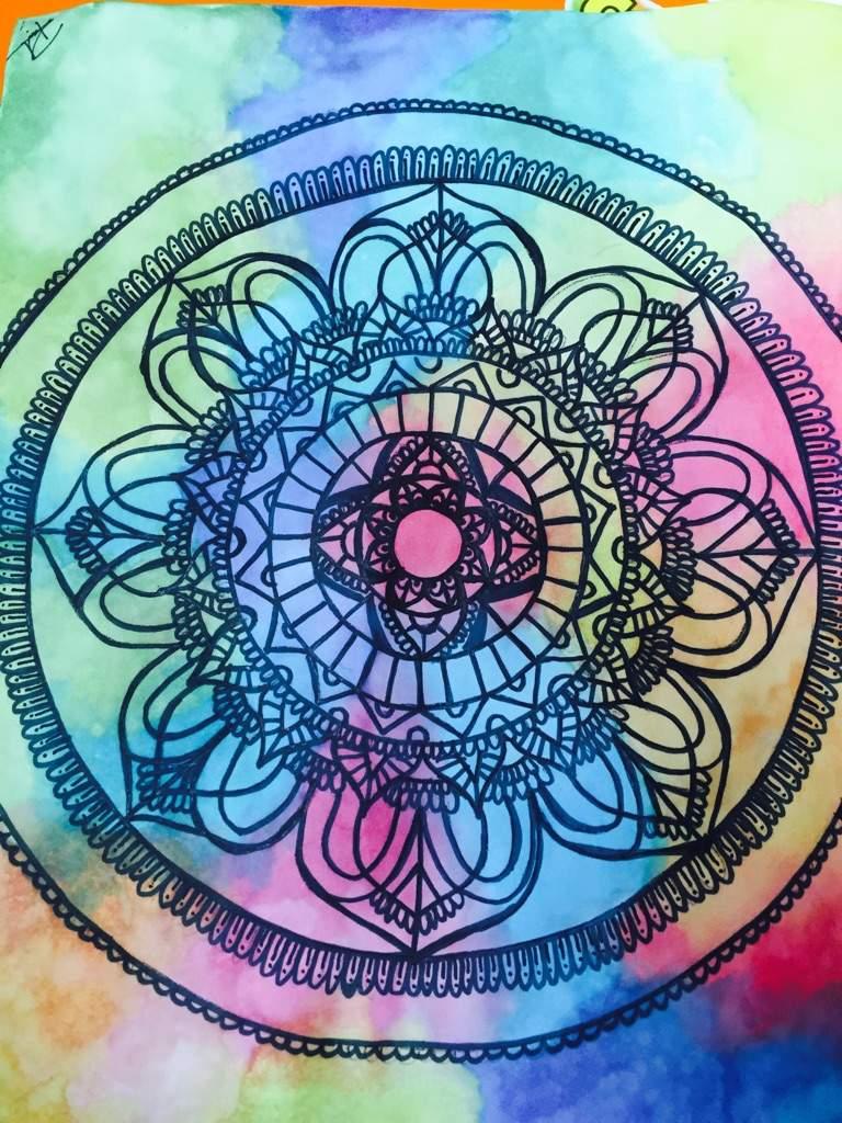Mandala Color Mandalas Y Dibujo Amino