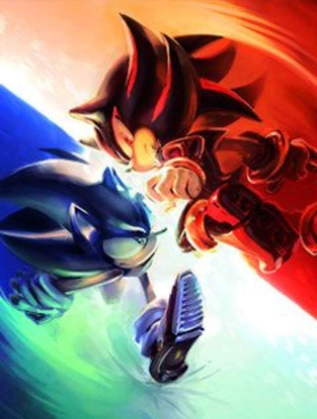 Sonic Vs Shadow Silver Wallpaper And By 838x720 Sonic Shadow And
