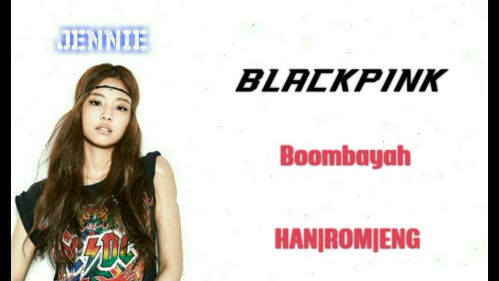 BLACKPINK - Boombayah Lyrics | K-Pop Amino