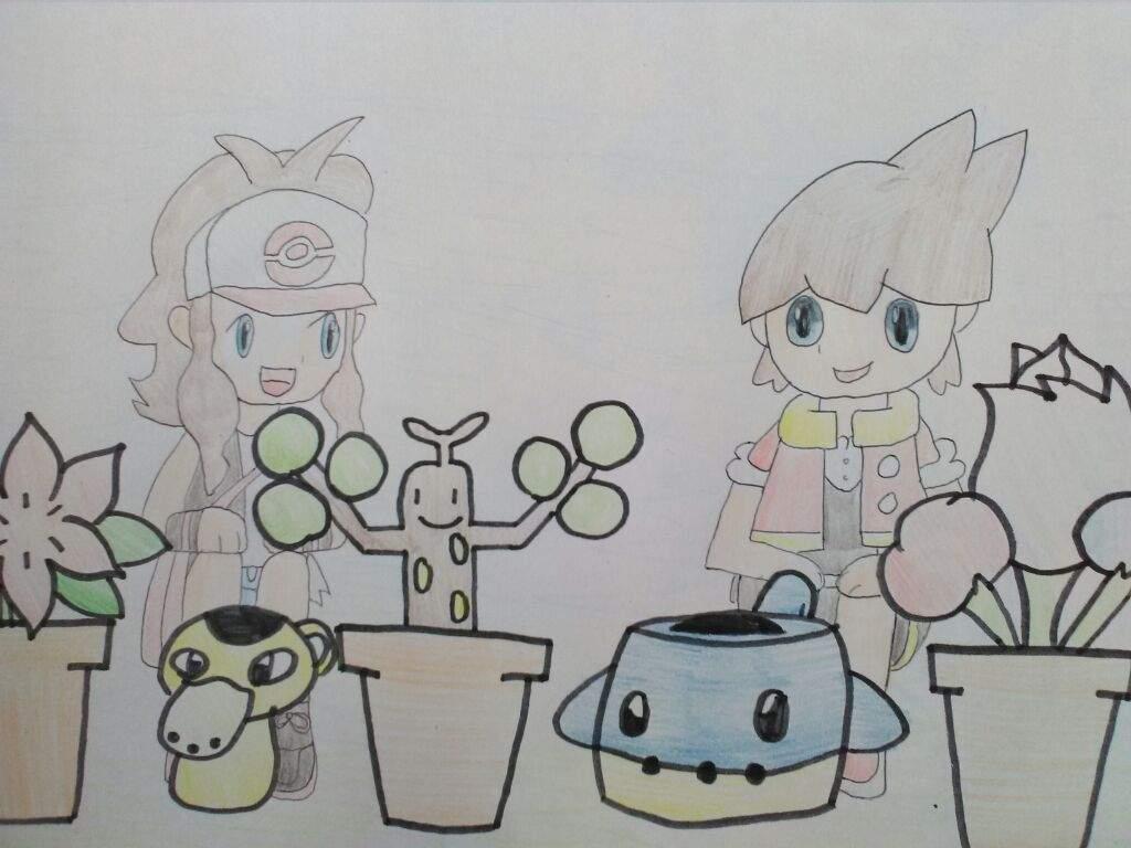 Flower Child Line Drawing : Flower shop drawing pokémon amino