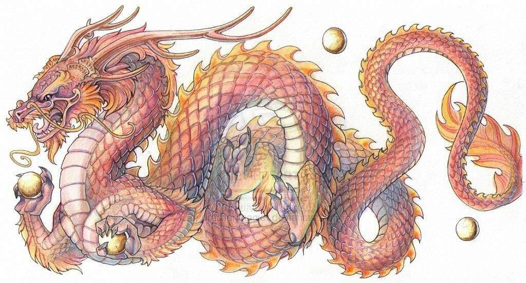 Korean Dragon: Korean Dragon '용/룡 (미르) - Yong/Ryong (Mireu)'