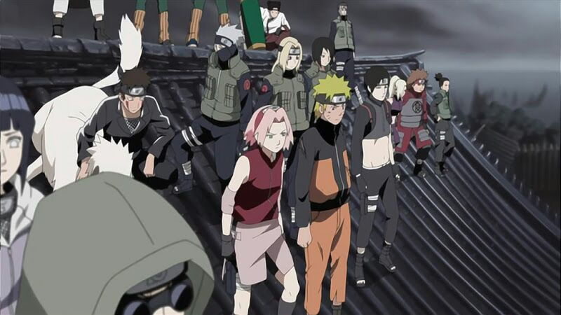 Naruto Shippuden August 2016 Schedule – The End is Near