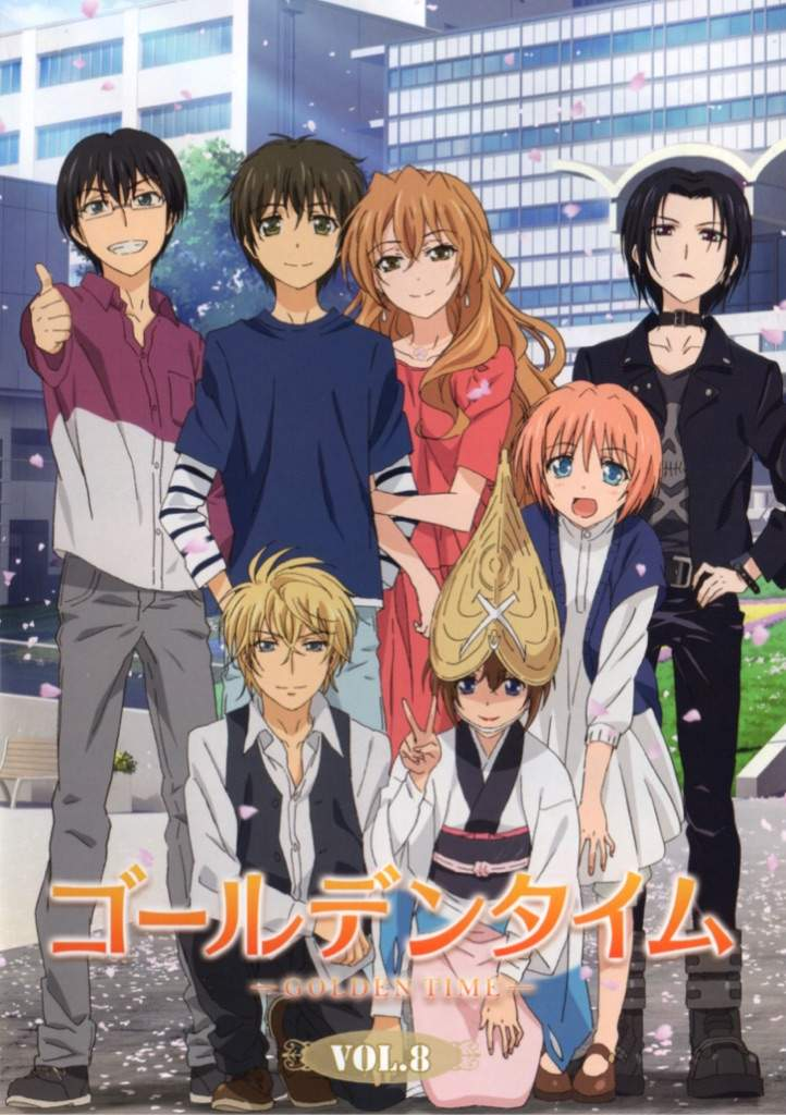 Golden Time Is An Anime I Think Its Also A Light Novel Or VN Something Dont Know Havent Really Done My Research About Tada Banri And His Love