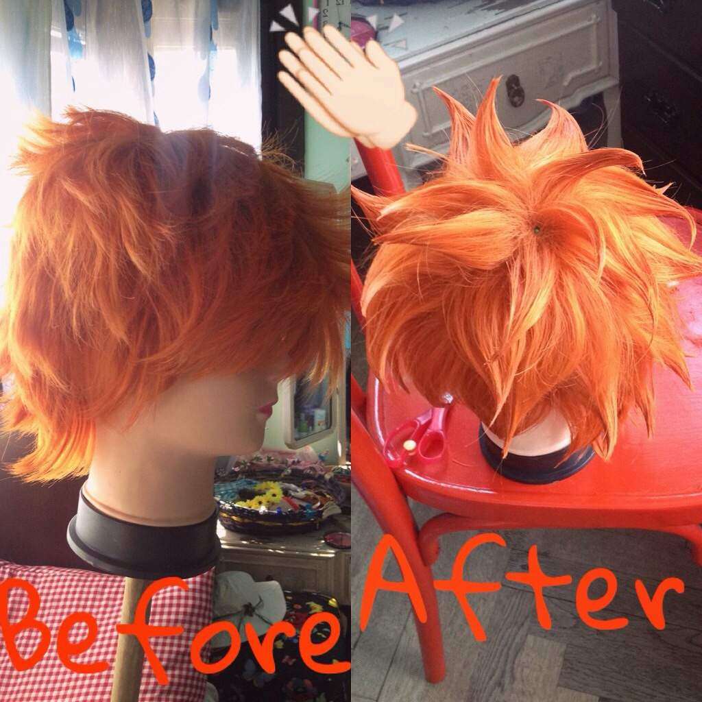 How to style a short wig cosplay — photo 2